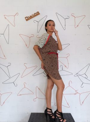Dress Batik Brown