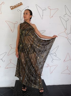 Sarong Dress Brown