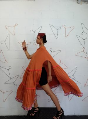 Sarong Dress Orange