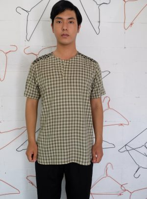 Short Shirt Square Green