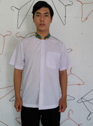 Short Shirt White motif Tosca