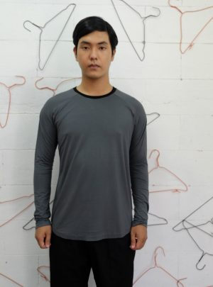 Long T- Shirt Grey
