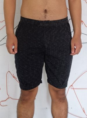 Short Pants Black Texture